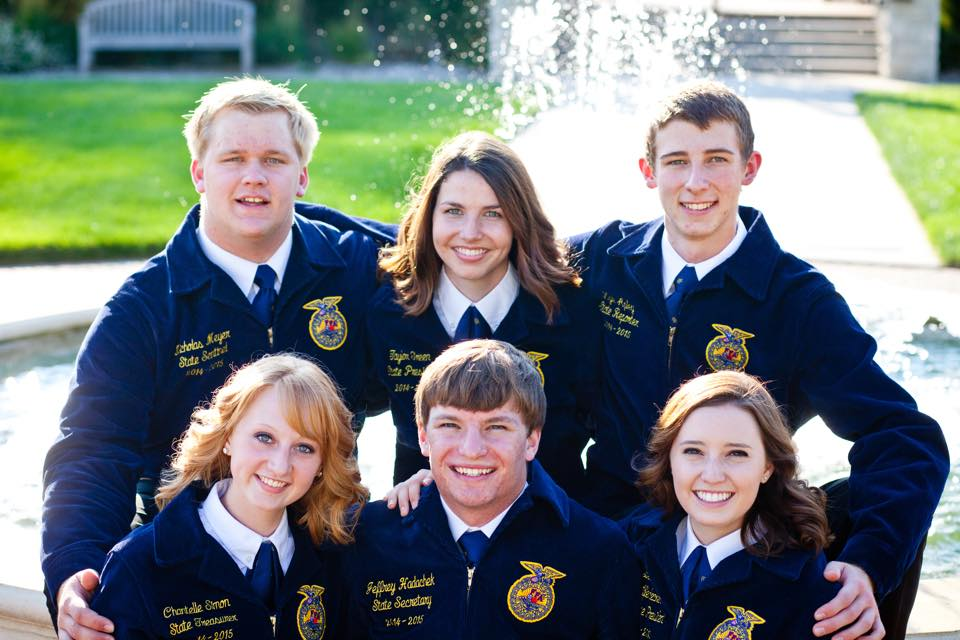 2014 – 2015 Kansas FFA State Officer team complete year of ...