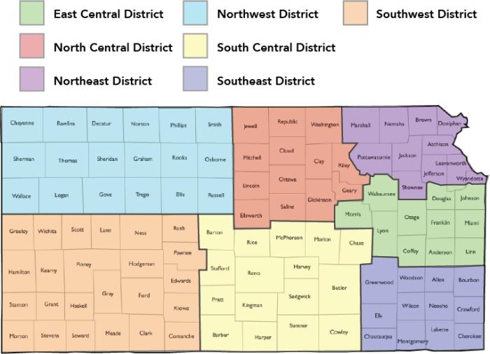 Kansas FFA Districts